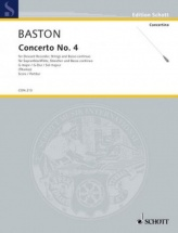 Baston John - Concerto No.4 G Major - Score