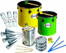 Contemporanea Pack Samba Nesting 13 Instruments