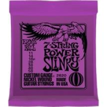 Ernie Ball Power Slinky 2620 7 Cordes 11 58