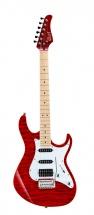 Cort G250dx Rouge Translucide