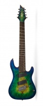 Cort Kx508ms Mariana Blue Burst