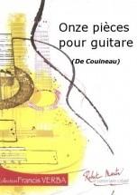 Couineau - Onze Pieces Pour Guitare