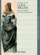 Verdi G. - Luisa Miller - Chant Et Piano