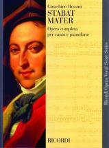 Rossini G. - Stabat Mater - Chant Et Piano
