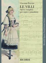 Puccini G. - Le Villi - Chant Et Piano