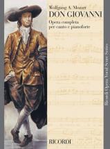 Mozart W.a. - Don Giovanni - Chant Et Piano