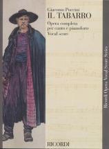 Puccini Giacomo - Tabarro - Chant Et Piano
