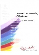 Crepin A. - Messe Universelle, Offertoire