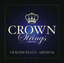 Crown Strings Crown Strings Violoncelle 4/4 Jeu De Cordes Tirant Moyen