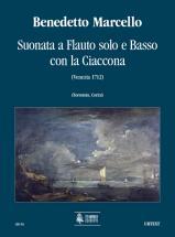 Marcello Benedetto - Suonata A Flauto Solo E Basso Con La Ciaccona