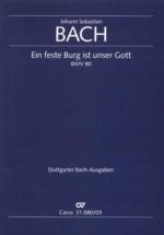 Bach J.s. - Ein Feste Burg Ist Unser Gott Bwv 80 - Vocal Score