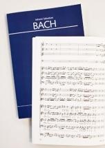 Bach J.s. - Bwv 84 Ich Bin Vergnugt Mit Meinem Glucke