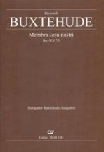 Buxtehude D. - Membra Jesu Nostri Buxvw 75 - Vocal Score