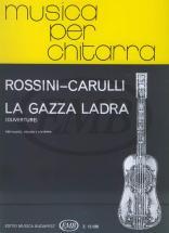 Rossini G. - Gazza Ladra - Ouverture - Flute, Violon Et Guitare