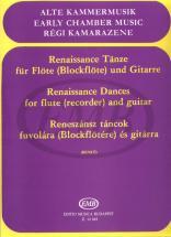 Danze Del Rinascimento - Flute Et Guitare
