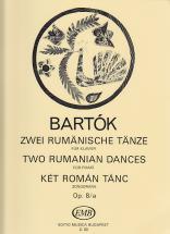 Bartok B. - Zwei Rumänische Tänze Op. 8/a - Piano