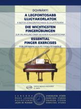 Dohnany E. - Essential Finger Exercises - Piano