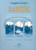 Bartok B. - Ten Pieces From Children Leggiero Series - String Orchestra