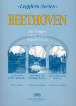 Beethoven L. - Easy Dances For Youth String Orchestra
