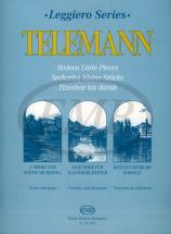 Telemann G.p - Sixteen Little Pieces For Youth String Orchestra