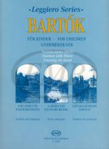 Bartok B. - 14 Pieces From The Series For Children - String Orchestra