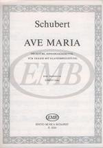 Schubert F. - Ave Maria Op 52 N 6 - Violin And Piano