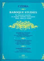 Czidra L. - Baroque Studies For Descant Recorder
