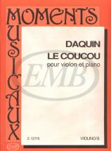 Daquin - Le Coucou - Violon Et Piano