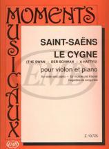 Saint Saens C. - The Swan - Violon Et Piano