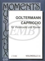 Goltermann - Capriccio - Violoncelle Et Piano