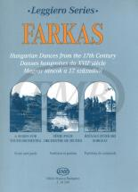 Farkas - Hungarian Dances From The 17th Century - String Orchestra