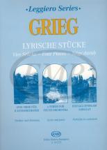 Grieg E. - Lyrische Stucke - String Orchestra