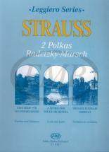 Strauss J. - 2 Polkas (annen Pizzicato) Radetzky Marsch - Ensemble Cordes