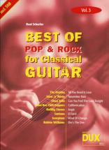 Best Of Pop and Rock For Classical Guitar Solf. and Tab Vol.3
