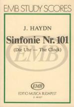 Haydn - Sinfonia N.101 In Re Maggiore - The Clock - Conducteur Poche