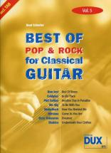 Best Of Pop and Rock For Classical Guitar Solf. and Tab Vol.5