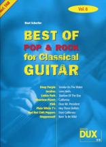 Best Of Pop and Rock For Classical Guitar Solf. and Tab Vol.8