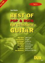 Best Of Pop and Rock For Classical Guitar Solf. and Tab Vol.9