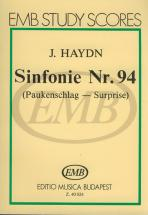 Haydn - Sinfonia N.94 In Sol Maggiore Surprise - Conducteur Poche
