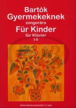 Bartok B. - For Children 1-2 - Piano