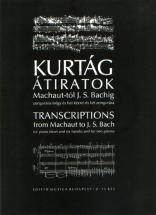 Kurtag G. - Transcriptions From Machaut To Bach - Piano