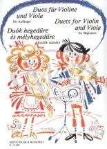 VIOLON Violon, Alto (duo) : Livres de partitions de musique