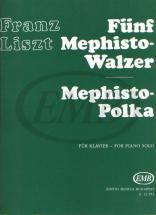 Liszt F. - Five Mephisto Walzer and Mephisto Polkavv - Piano