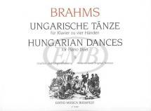 Brahms - Dances Hungarian Vol.2 - Piano 4 Mains