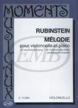 Rubinstein A. - Melodia - Violoncelle Et Piano