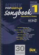 Acoustic Pop Guitar Songbook Strumming & Picking Vol.1 + Cd