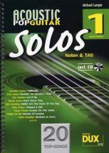 Acoustic Pop Guitar Solos Solf. & Tab Vol.1 + Cd
