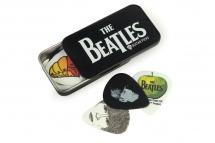 Planet Waves Boite Metal 15 Mediators Beatles Logo