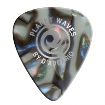 D\'addario And Co Abalone Celluloid Guitar Picks 10 Pack Extra Heavy