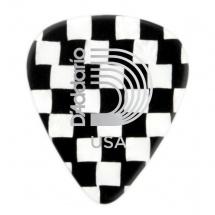 D\'addario And Co 1ccb4 Mediators Pour Guitare Checkerboard